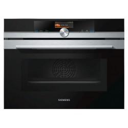 Компактный духовой шкаф с микроволновым режимом Siemens CM678G4S1