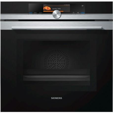 Духовой шкаф с интегрированной микроволновой печью и функцией пара Siemens HN678G4S1